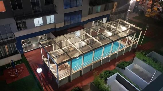 Departamento Penthouse De 3hab,2baños,2est,roofgrden,balcon