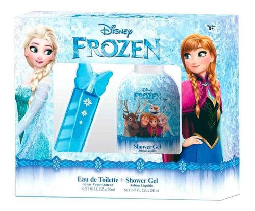 Set Frozen Disney Perfume 30ml + Gel De Ducha 280ml