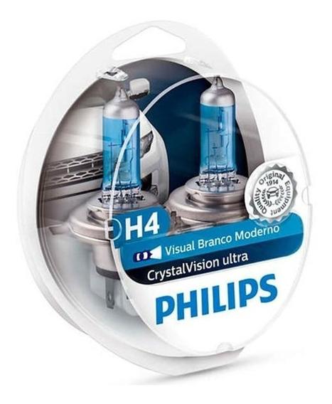 Kit Lampada Philips Xenon 60/55w H4 P43t-38