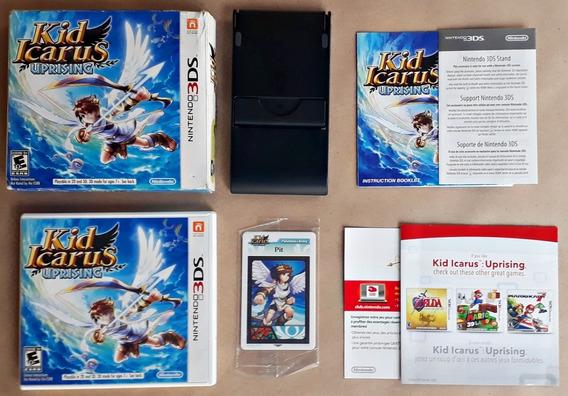 Jogo Kid Icarus Uprising Nintendo 3ds Completo Frete Grátis