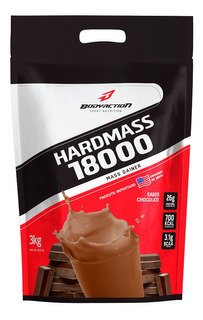 Hardmass 18.000 3kg Bodyaction - Hipercalórico Concentrado
