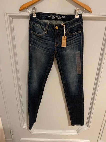 Jean American Eagle Mujer