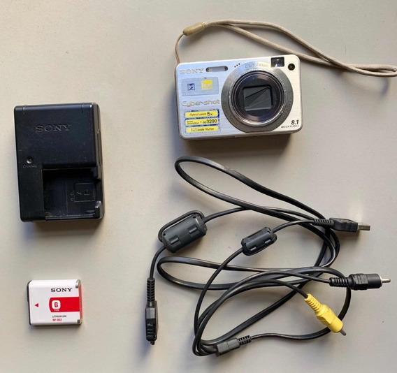 Máquina Digital Sony Cyber-shot Dsc-w150