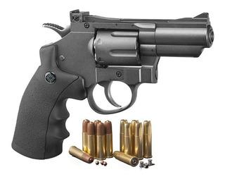 Crosman Snr357 Co2 Revolver Fullmetal Balin/diabolo+regalos