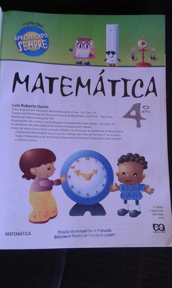 Coleção Aprender Sempre Matemática 4o Ano