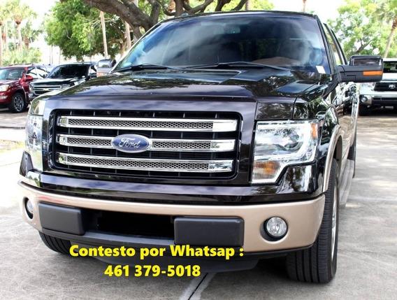 Ford Lobo 2013 3.5 Lariat Cabina Doble 4x4 Mt
