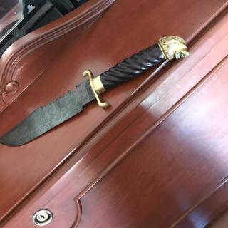 Espada Antigua Alemana, Gladiador De Bronce.