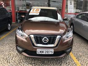 Nissan Kicks Cvt 2018 Marrom Flex