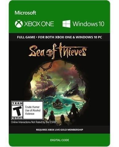 Sea Of Thieves Xbox One - Windows 10 - Código 25 Dígitos