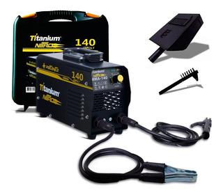 Máquina Inversora De Solda 140a Mma Nitro Titanium Bivolt