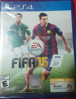 Fifa 15 Ps4 Playstation 4 Nuevo