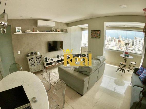 Apartamento Com 2 Dormitórios À Venda, 62 M² Por R$ 570.000 - Barra Funda - São Paulo/sp - Ap6345