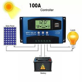 Controlador De Carga Solar Pwm 60 A 12v Ou 24v. Hibrido