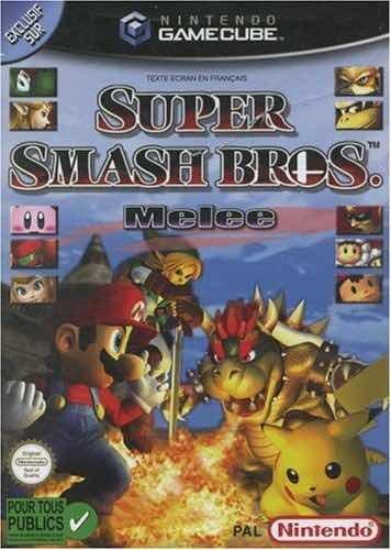 Mario Smash Bros Game Cube Original, Em Perfeito Estado!