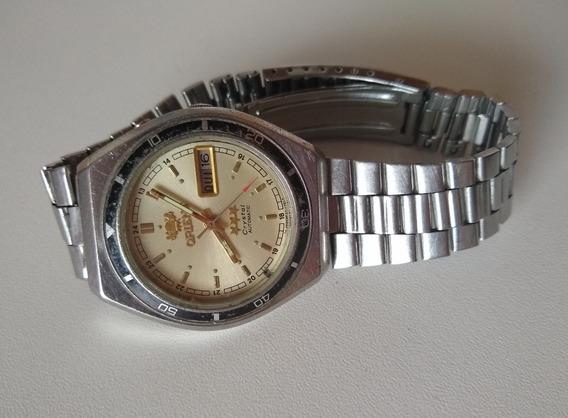 Relógio Masculino Orient 3 Estrelas Crystal Cn 469mf2 7y Ca