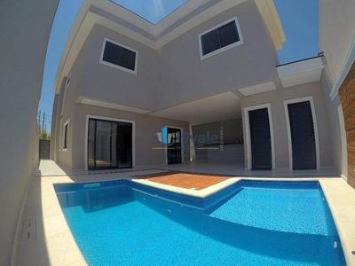 Casa Com 4 Suites À Venda, 240 M² Com Piscina, Condomínio Altos Da Serra Urbanova - São José Dos Campos/sp - Ca1117