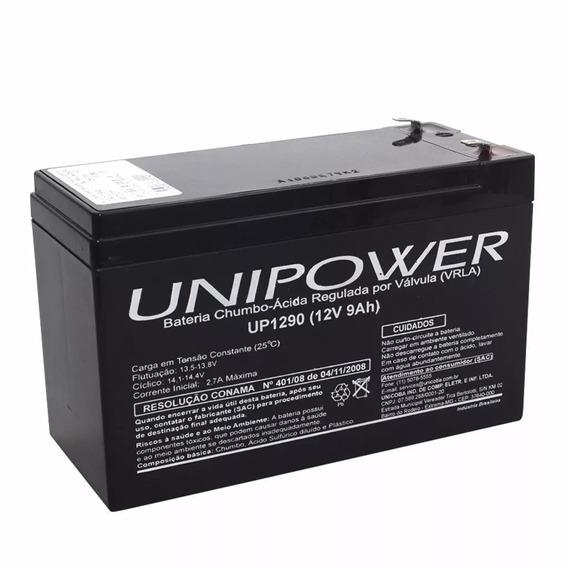 Bateria Selada 12v 9ah Unipower - Up1290