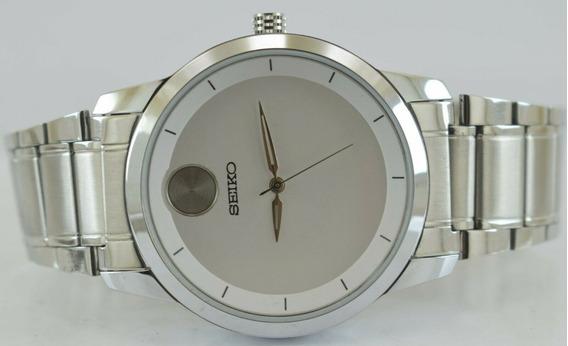 Reloj De Pulsera Seiko Japónes De Cuarzo Para Hombre