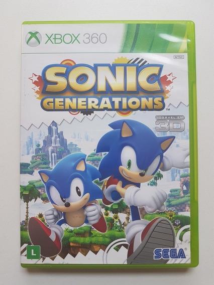Sonic Generations Original Para Xbox 360