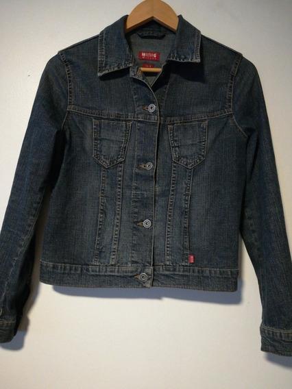 *chaqueta Casaca Jeans Mezclilla Mujer Juvenil Española S
