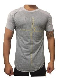 Kit 06 Camisa Masculina Longline Estampadas No Frete Gráts