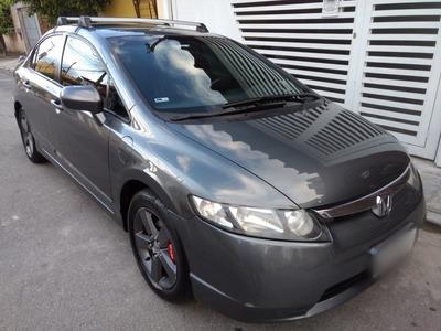 Honda Civic 1.8 Lxs Flex Automático 2007