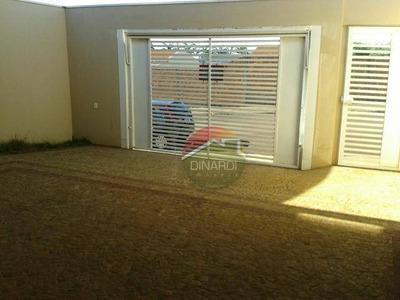Casa Residencial À Venda, Bom Jardim, Brodowski. - Codigo: Ca6312 - Ca6312