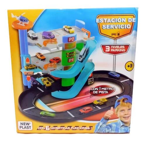 Imagen 1 de 8 de Estacion De Servicio Garage 3 Niveles New Plast Pista Cuotas