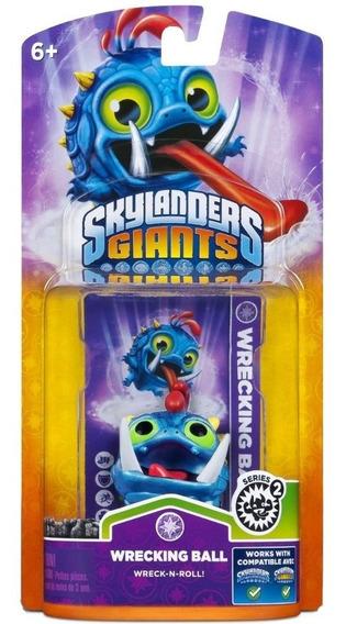 Boneco Skylanders Giants Wrecking Ball Para Nintendo Wii U