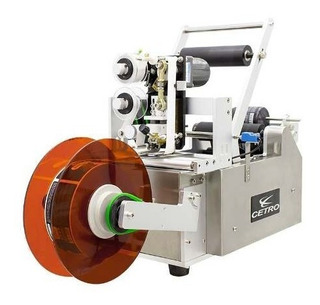 Máquina Semi-automática Para Colar Rótulos C/ Datador