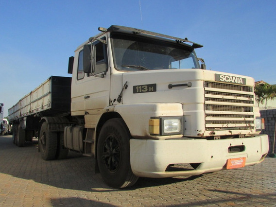 Scania T113 Carreta Carga Seca Assoalho Chapa Xadrez