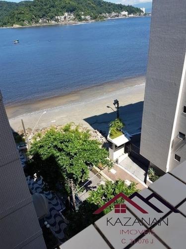 Apartamento 03 Dormitórios Amplos De Frente No Itararé - São Vicente - Sp. - 2829