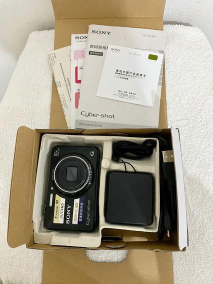 Câmera Digital Sony Wx150 Cartão De Memória 8gb E Película!