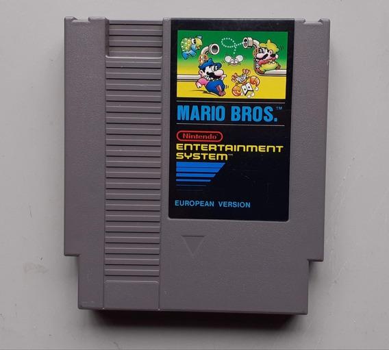 Mario Bros. Nes Nintendinho Nintendo Original Européia Rara