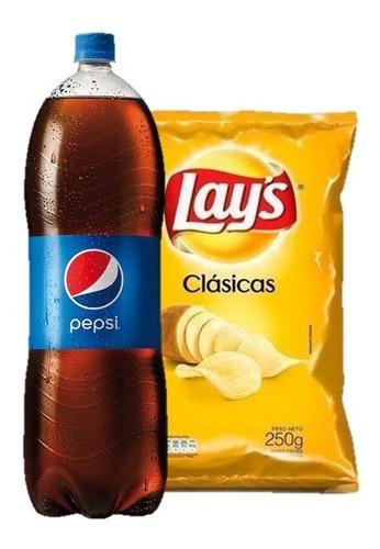 Refresco Pepsi Regular 2,5 Lts + Lays Clásicas 250 Gr