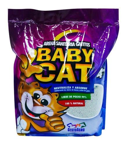 Imagen 1 de 2 de Arena Sanitaria Baby Cat