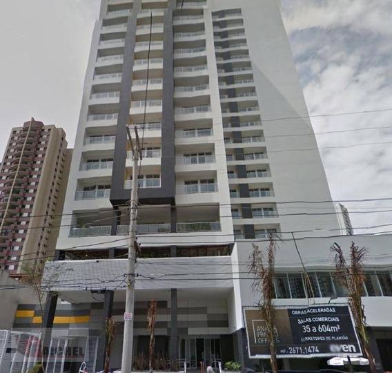 Sala Comercial Para Venda E Locação, Vila Regente Feijó, São Paulo. - Sa0031
