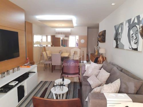 Apartamento Com 4 Dormitórios À Venda, 168 M² Por R$ 1.380.000,00 - Piratininga - Niterói/rj - Ap0437