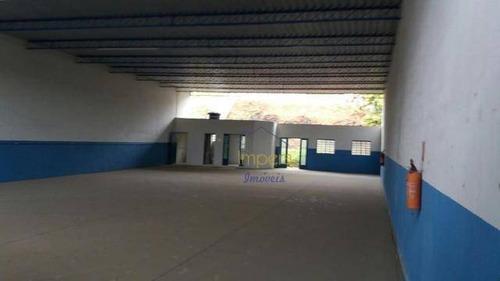 Galpão Para Alugar, 400 M² Por R$ 4.130,00/mês - Jardim Esperança - Jacareí/sp - Ga0003