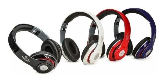 Fone De Ouvido Sem Fio Headphone Bluetooth Micro Usb Sd Fm