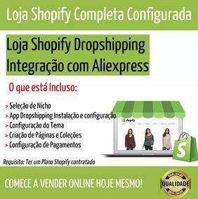 Loja Shopify Para Dropshipping E-commerce