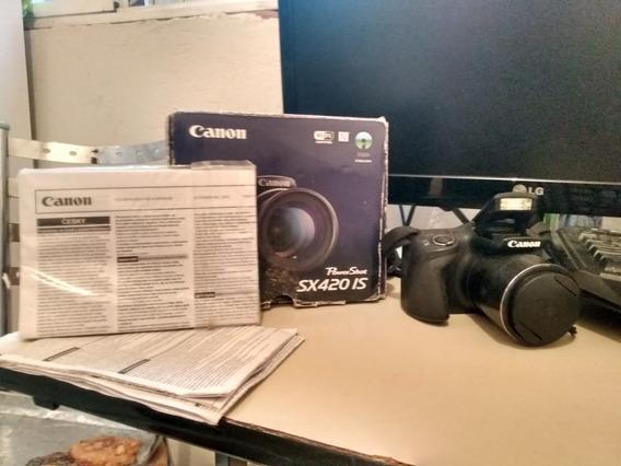 Câmera Semi Profissional Powershot Sx420 Is Da Canon
