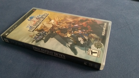 Final Fantasy Tactics Black Label - Psp - Frete Grátis Carta
