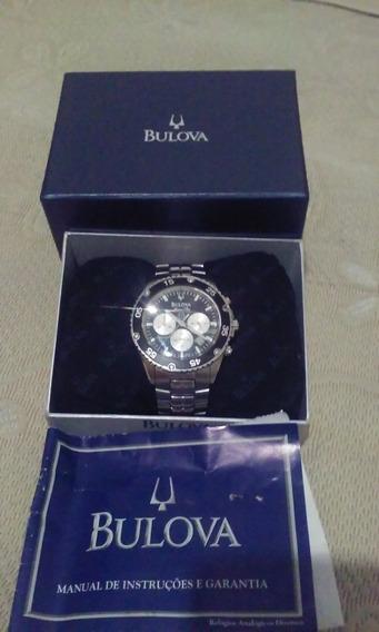 Relógio Bulova Marine Star Resistente 100 Metros Masculino