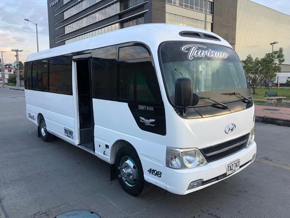 Hyundai County, Modelo 2014, Buseta 23 Pasajeros, Bus
