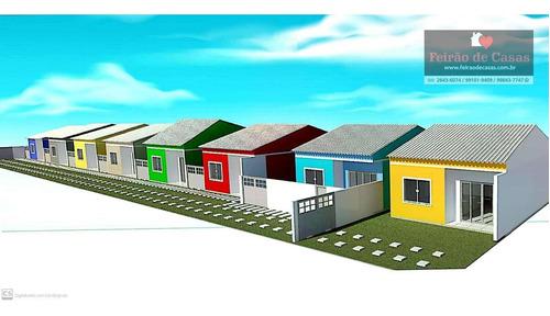 Casa Com 2 Dormitórios À Venda, 90 M² Por R$ 210.000,00 - Unamar - Cabo Frio/rj - Ca0220
