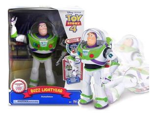 Toy Story 4 Figura Animatronico Buzz 65+ Frases Y Sonidos