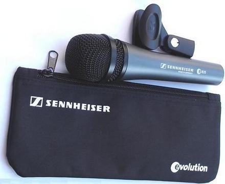 Microfono Profesional Sennheiser E835 Nuevo