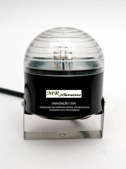 Strobo Mini Piscante 40ws Com Suporte Sinalizacão Geral Mr X