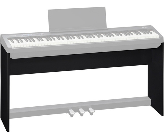 Estante Para Piano Digital Fp-30 Preto Roland Ksc-70